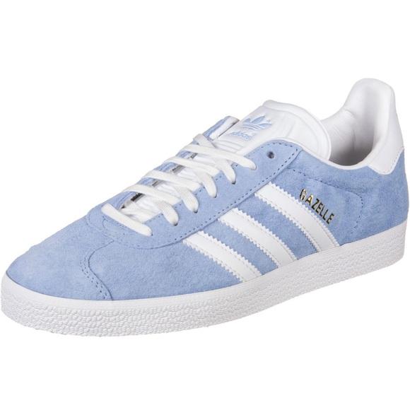 Light Blue Adidas Gazelle Sneakers